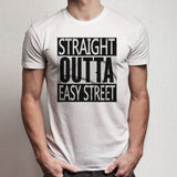 The Walking Dead Straight Outta Easy Street Men'S T Shirt