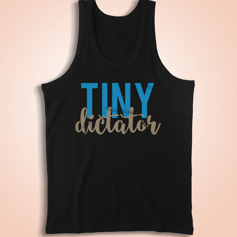 Tiny Dictator Bossy Cute Men'S Tank Top