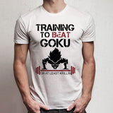 Training Insaiyan Gym To Beat Goku Men'S T Shirt