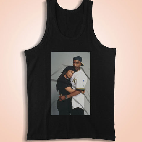 Tupac 2Pac And Janet Jackson Men'S Tank Top