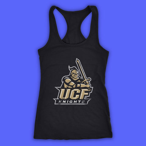 University Central Florida Knights Ucf Knights Logo Women'S Tank Top Racerback