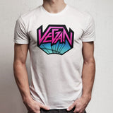 Vegan 80S Hairband Heavy Metal Band Men'S T Shirt