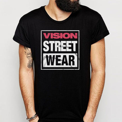 Vision Street Wear 80S Skateboarding Retro 1980S Classic Men'S T Shirt
