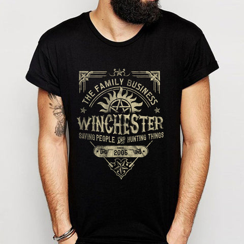 Winchester A Very Winchester Business Men'S T Shirt