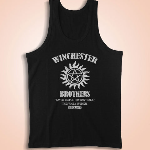 Winchester Brothers Supernatural Men'S Tank Top