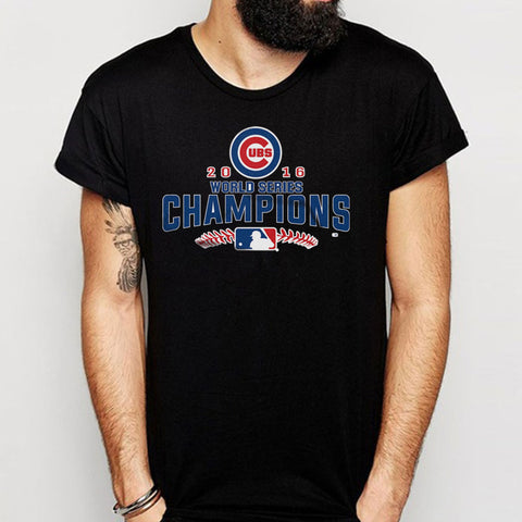 World Series Champions Chicago Cubs Graphic Men'S T Shirt