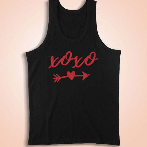 Xoxo Valentines Day Heart Arrows Men'S Tank Top