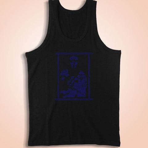 Blue Willow Vintage Design Blue Willow Men'S Tank Top