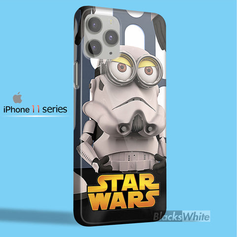 minions star wars tm00  iPhone 11 Case