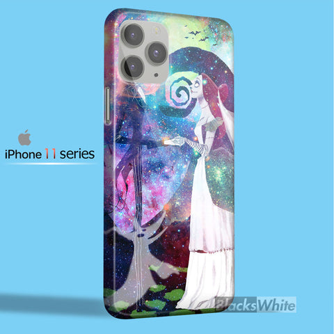 nightmare before christmas marry in galaxy   iPhone 11 Case