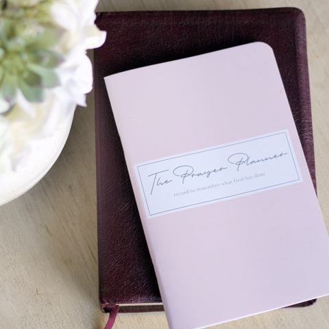 On Sale: The Three Month Prayer Journals - Plan to Pray