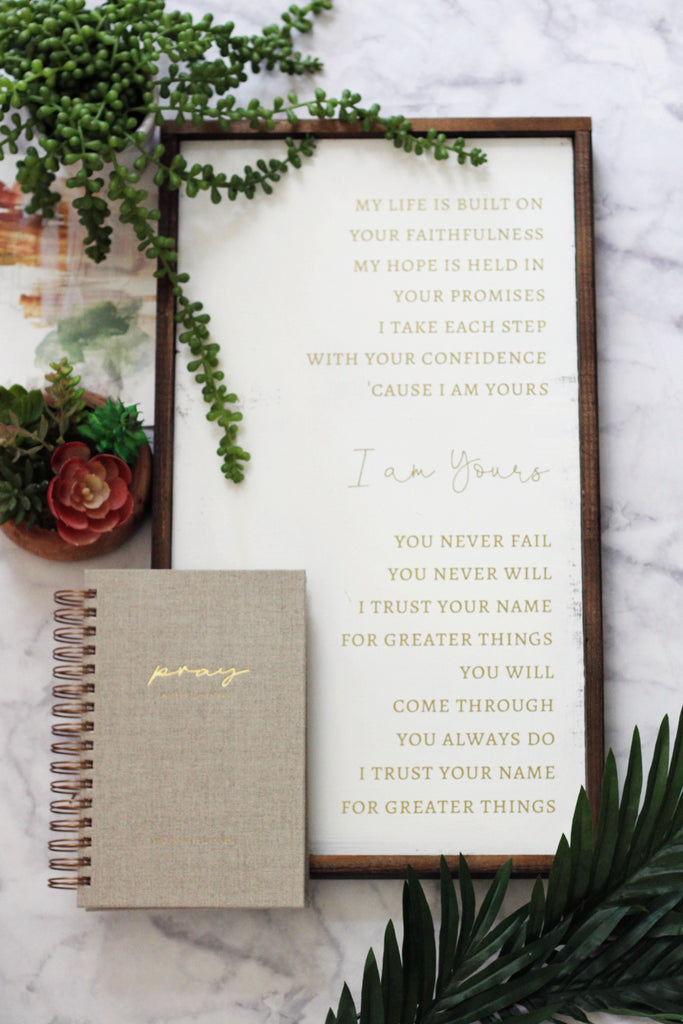 The Prayer Planner in Linen - The Prayer Planner Yearly