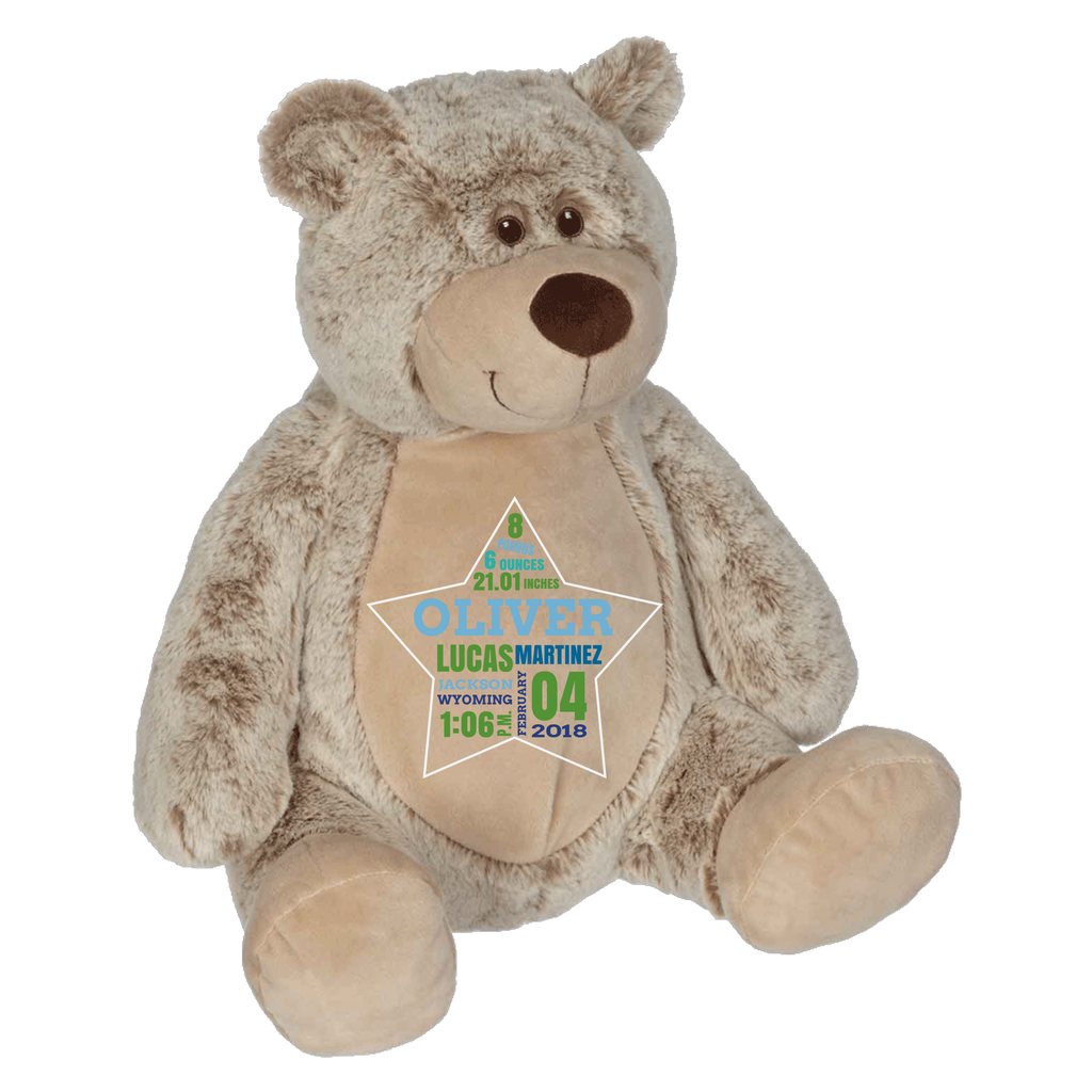 Embroider Buddy- Benjamin Bear