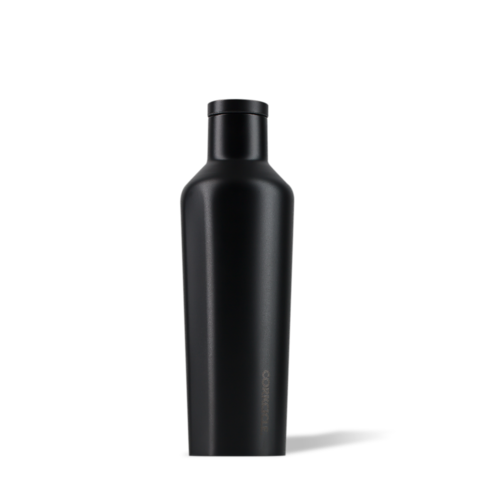 Corkcicle 16oz Canteen- Dipped Black Out