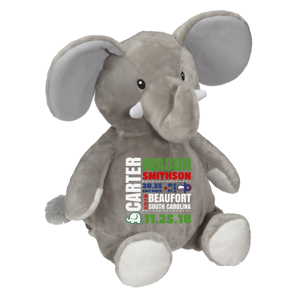 Embroider Buddy- Elford Elephant