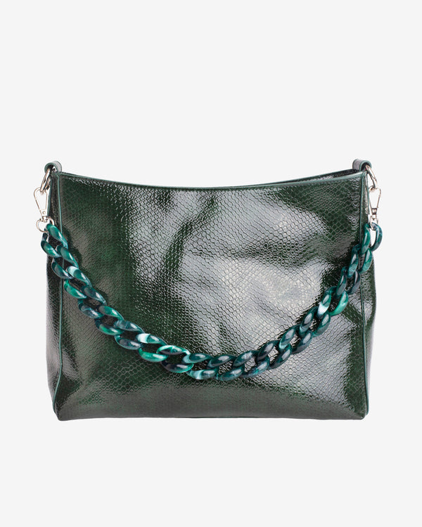 Hvisk AMBLE BOA Handle Bag 082 Dark Green