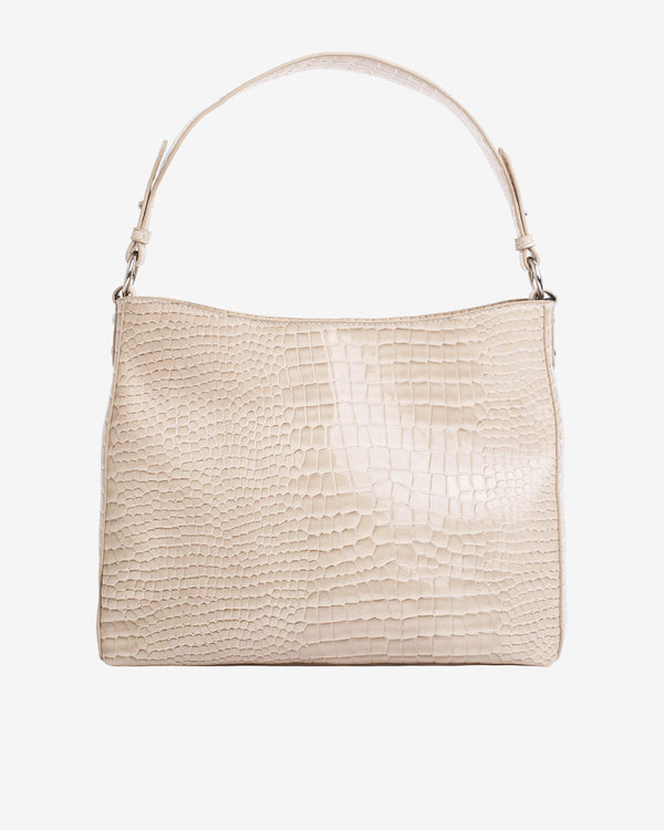 Hvisk AMBLE CROCO Handle Bag 116 Soft offwhite