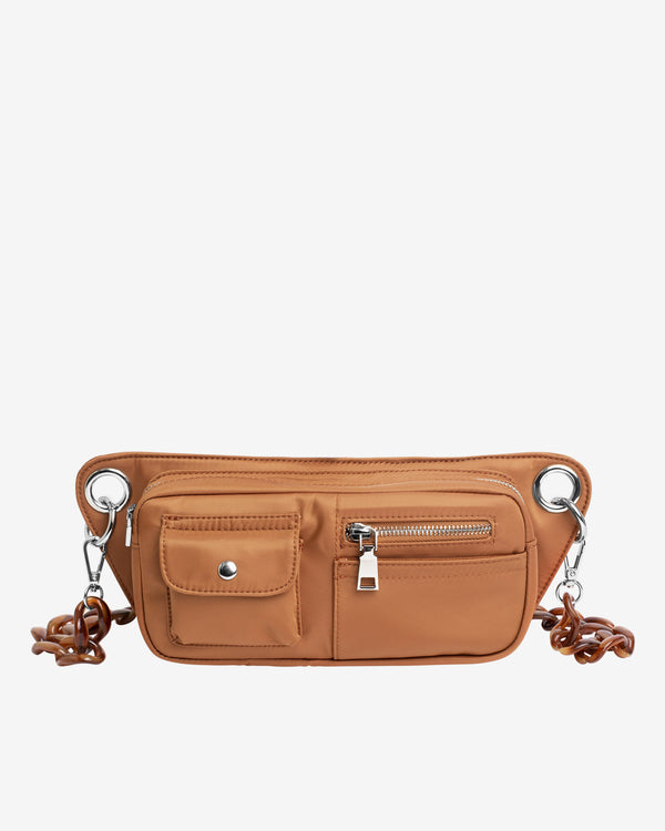 Hvisk BRILLAY NYLON RECYCLED Bum Bag 088 Caramel