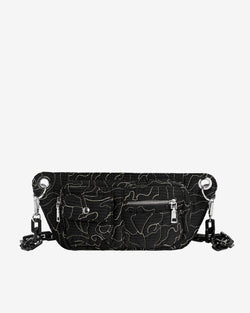 Hvisk BRILLAY POSY Bum Bag 009 Black