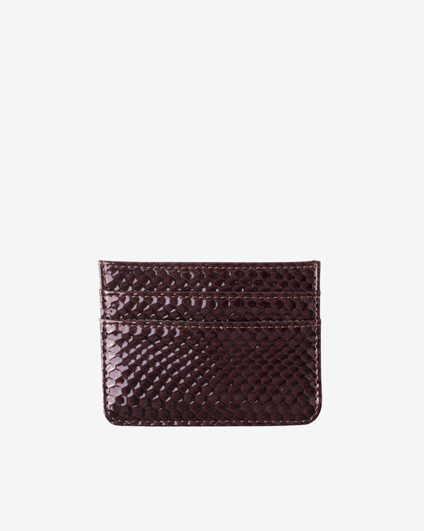 Hvisk CARD HOLDER BOA Wallet 078 Burgundy