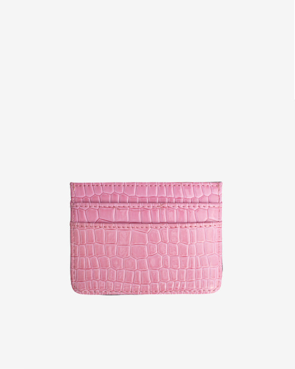 Hvisk CARD HOLDER CROCO Wallet 022 Pink