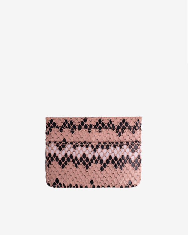 Hvisk CARD HOLDER SNAKE Wallet 022 Pink