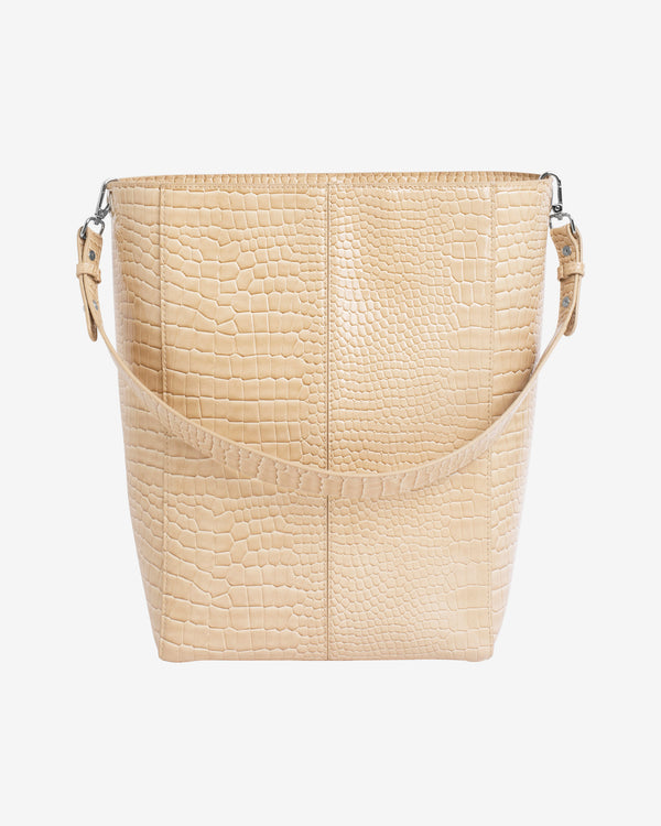 Hvisk CASSET CROCO Crossbody 122 Light Beige