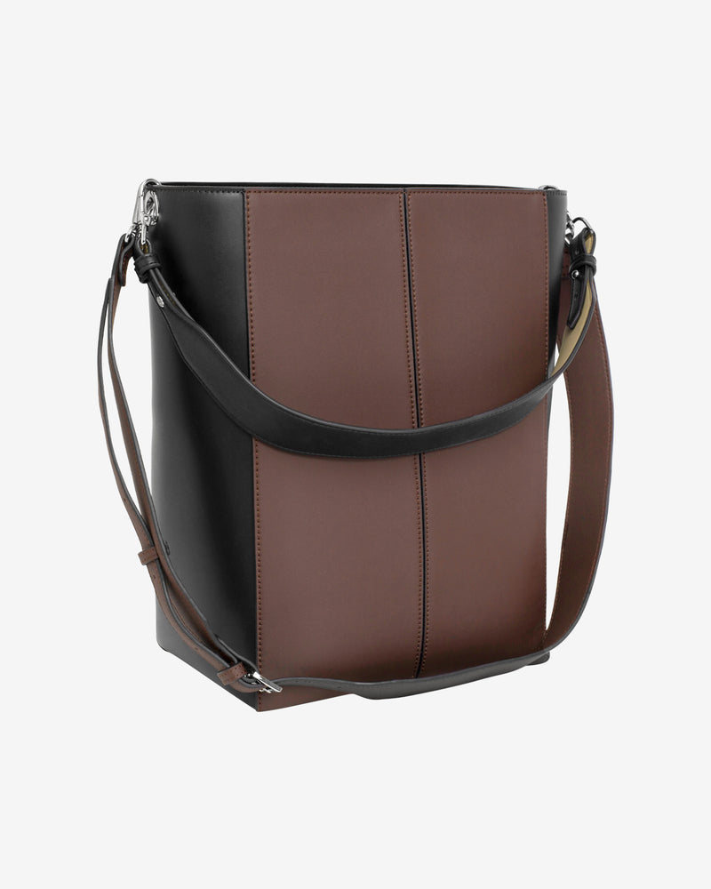 Hvisk CASSET MULTI RESPONSIBLE Crossbody 120 Brown Multi