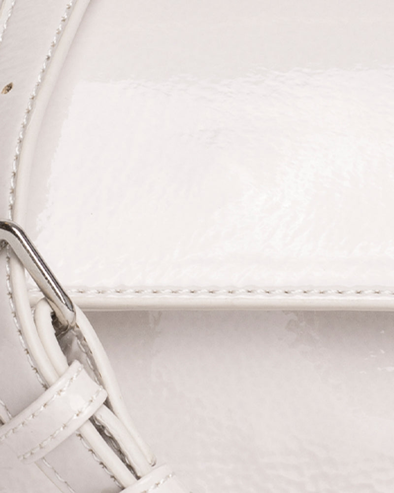 Hvisk CAYMAN MINI GLOSSY Crossbody 027 White