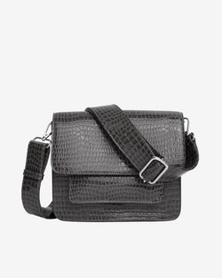 Hvisk CAYMAN POCKET Crossbody 077 Dark Grey