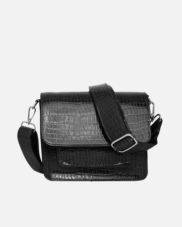 Hvisk CAYMAN POCKET Crossbody 009 Black