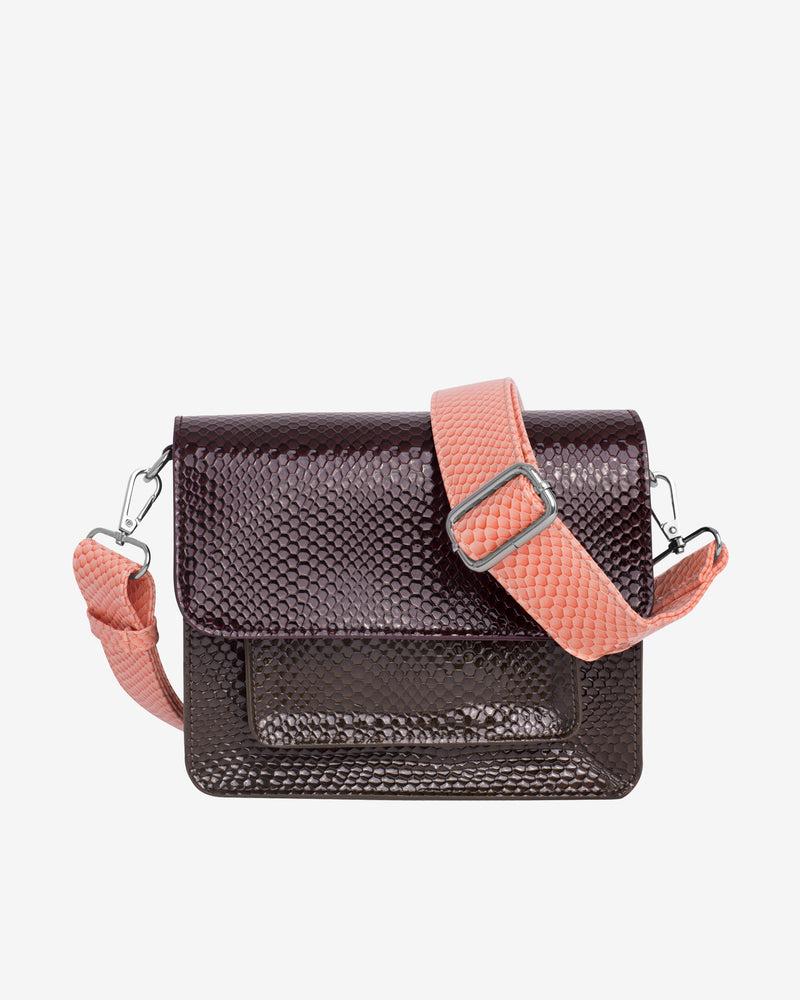 Hvisk CAYMAN POCKET MULTI BOA Crossbody 078 Burgundy