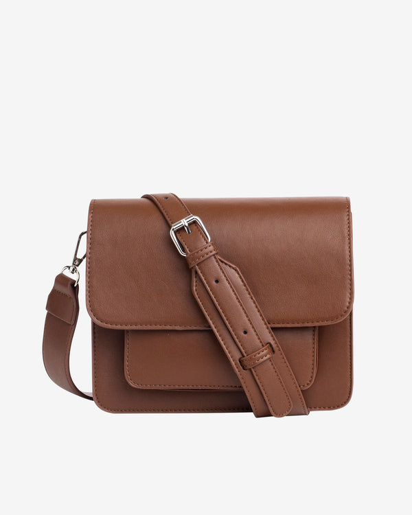Hvisk CAYMAN POCKET SOFT Crossbody 060 Brown