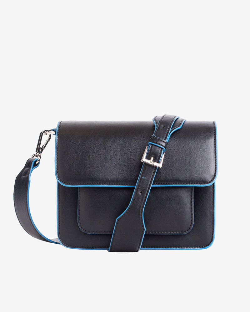 Hvisk CAYMAN POCKET TONAL Crossbody 009 Black