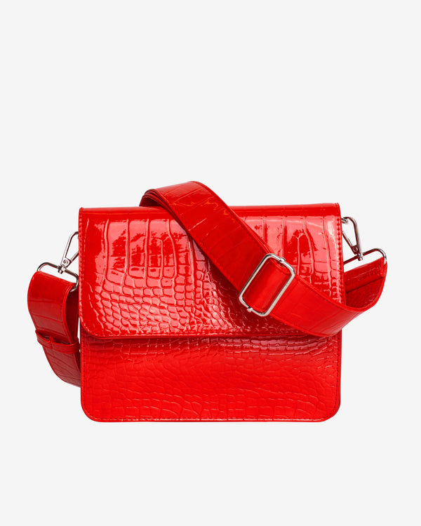 Hvisk CAYMAN SHINY STRAP BAG Crossbody 019 Red