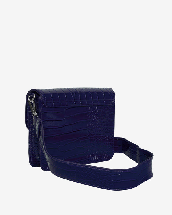 Hvisk CAYMAN SHINY STRAP BAG Crossbody 003 Midnight Blue