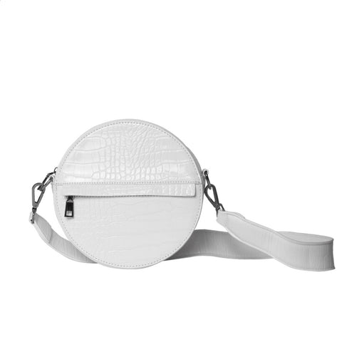 Hvisk CAYMAN CIRCLE Crossbody 027 White