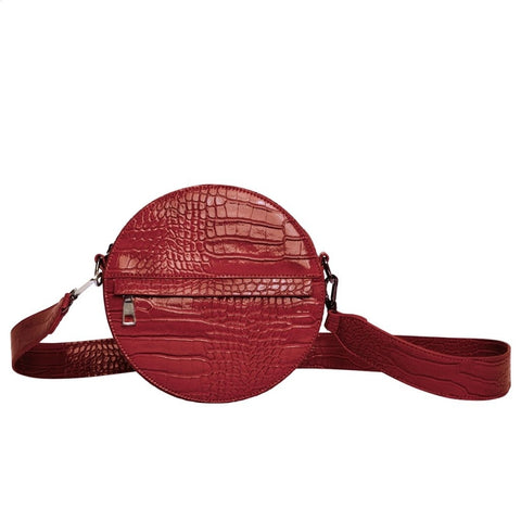 Hvisk CAYMAN CIRCLE Crossbody 066 Wine Red