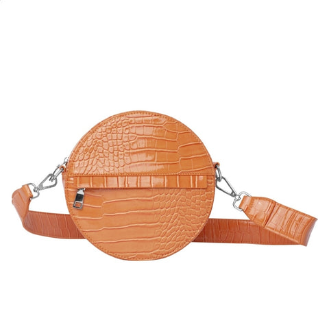 Hvisk CAYMAN CIRCLE Crossbody 068 Pastel Orange