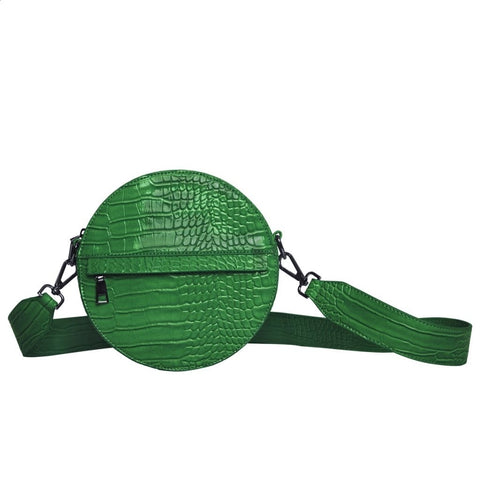 Hvisk CAYMAN CIRCLE Crossbody 069 Grass Green