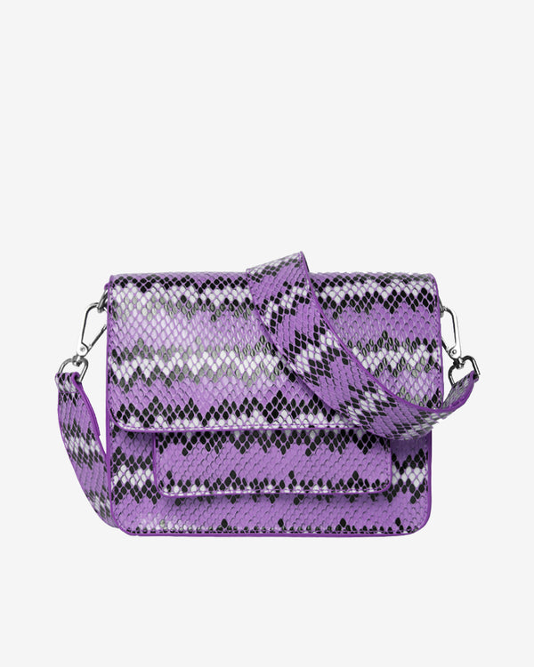 Hvisk CAYMAN SNAKE POCKET Crossbody 008 Purple