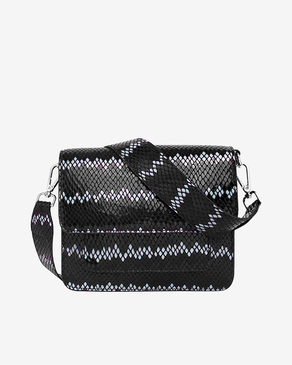 Hvisk CAYMAN SNAKE POCKET Crossbody 009 Black