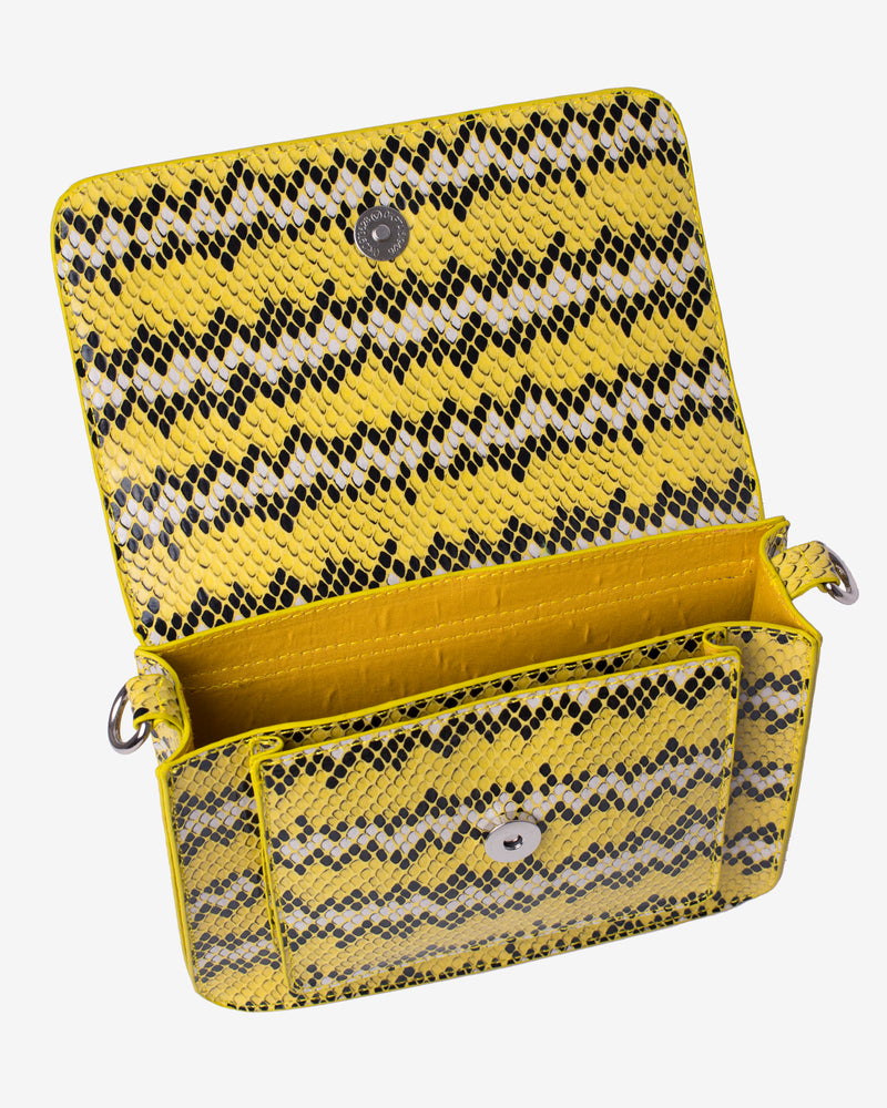 Hvisk CAYMAN SNAKE POCKET Crossbody 018 Yellow