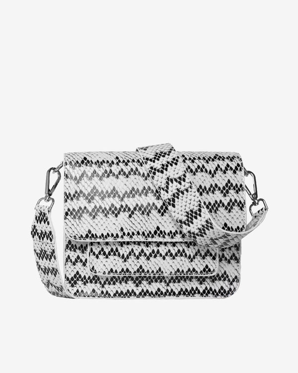 Hvisk CAYMAN SNAKE POCKET Crossbody 027 White