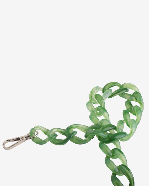 Hvisk CHAIN HANDLE Strap 094 Tortoise Green