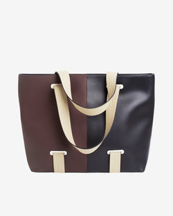 Hvisk COAST MULTI RESPONSIBLE Shopper 120 Brown Multi