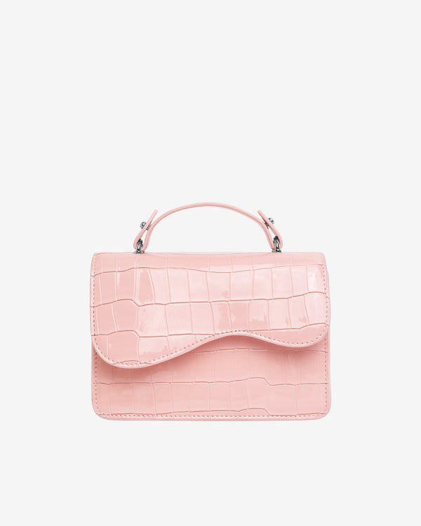 Hvisk CRANE CROCO Crossbody 098 Soft Pink