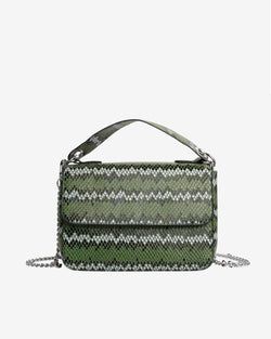 Hvisk DALLY SNAKE Handle Bag 010 Green
