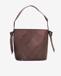 Hvisk ELIV TILE Shopper 115 Dark Brown