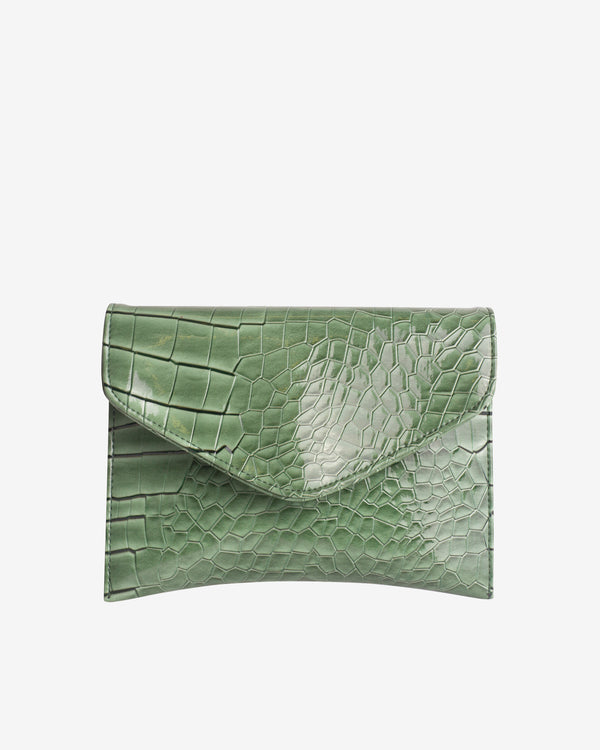Hvisk EVOLVE CROCO Crossbody 002 Dusty Green
